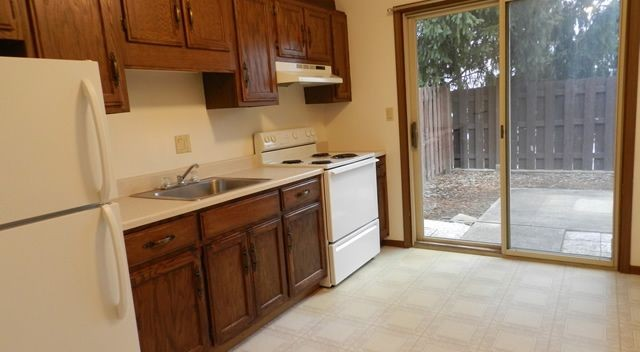 Modern well-appointed kitchens in all units